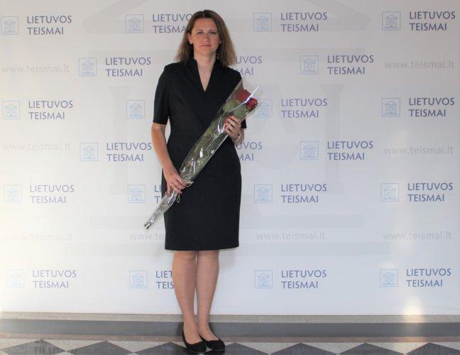 Vilniaus apygardos teismo teisėjų gretas papildė teisėja Julita Dabulskytė-Raizgienė